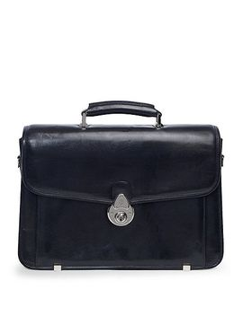 single-gusset-classic-briefcase by brooks-brothers