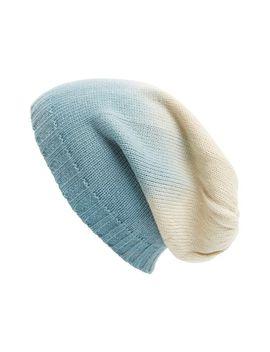 ombré-slouchy-knit-beanie by leith