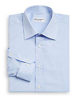 cotton-dress-shirt by yves-saint-laurent