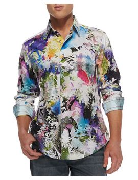 mack-daddy-floral-print-sport-shirt by robert-graham