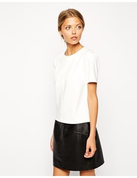 asos-smart-top-in-premium-fabric by asos-collection