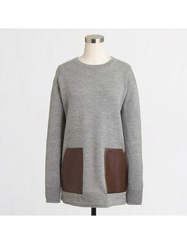 factory-merino-pocket-tunic by jcrew