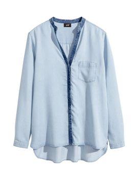 lyocell-denim-shirt by h&m