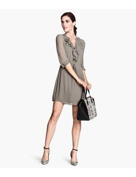 chiffon-dress by h&m