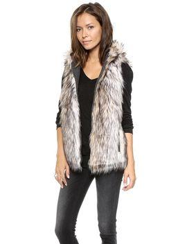 hopi-reversible-faux-fur-vest by 6-shore-road