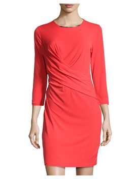 crossover-slinky-jersey-dress,-bombshell by michael-michael-kors