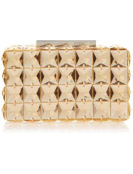 bcbg-lulu-square-stone-clutch-evening-bag,parfait,one-size by bcbgmaxazria