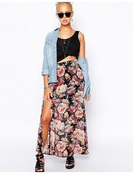 glamorous-floral-maxi-skirt by glamorous