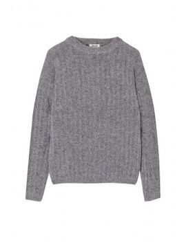 Dramatic Moh Grey Mohair Jumper by Acne Studios
