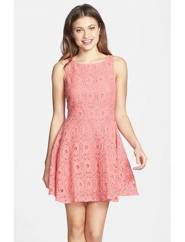 renley-lace-fit-&-flare-dress by bb-dakota