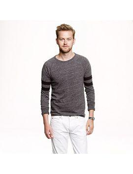 slim-football-flagstone-t-shirt-in-double-stripe by jcrew