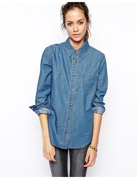 asos-denim-shirt-in-retro-wash by asos-collection