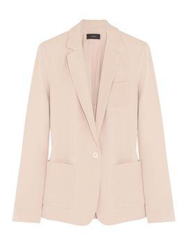 deauville-matte-silk-blazer by joseph