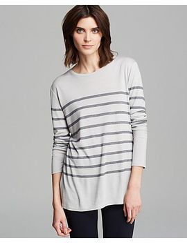 stripe-crew-sweater by vince