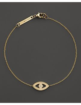 14k-yellow-gold-evil-eye-diamond-bracelet,-01-ct-tw by zoë-chicco