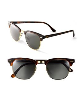 clubmaster-49mm-sunglasses by ray-ban