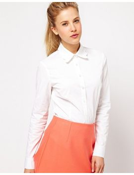 asos-shirt-with-scallop-collar by asos-collection