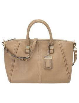 tribeca-pebbled-leather-satchel by nine-west