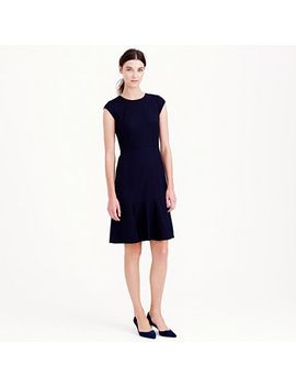rory-dress-in-super-120s-wool by jcrew