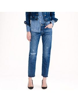 point-sur-vintage-cropped-japanese-selvedge-jean-in-darwin-wash by jcrew