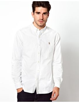 polo-ralph-lauren-oxford-shirt-in-slim-fit-white by polo-ralph-lauren