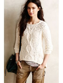 crossed-cables-pullover by moth