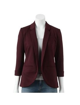 lc-lauren-conrad-ponte-blazer---womens by kohls