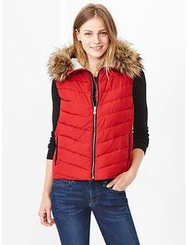 primaloft®-luxe-fur-trim-puffer-vest by gap