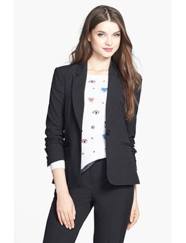 one-button-stretch-suit-jacket by halogen®