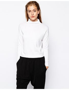 mango-compact-knit-high-neck-knitted-top by mango