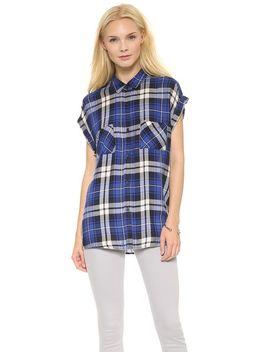 britt-button-down-shirt by rails