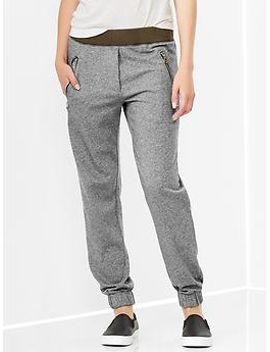 colorblock-zip-pocket-track-pants by gap