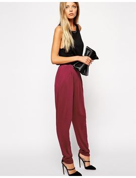 asos-peg-pants-in-jersey by asos-collection