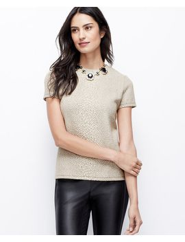 exotic-embossed-top by ann-taylor