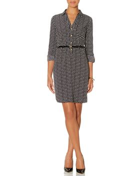 printed-ashton-shirtdress by the-limited