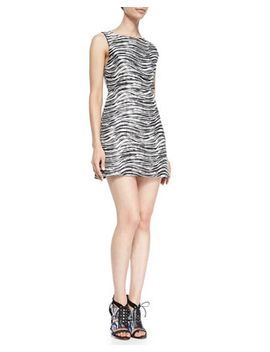 everleigh-sleeveless-metallic-dress by alice-+-olivia