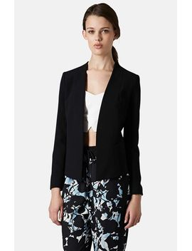 open-front-blazer by topshop