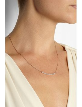 skinny-curve-rose-gold-plated-diamond-necklace by monica-vinader