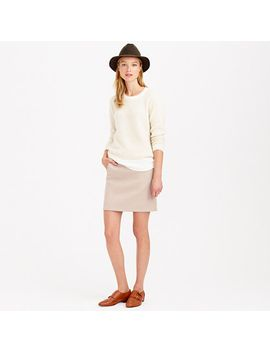 zip-pocket-mini-skirt by jcrew