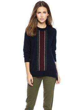 regimental-stripe-cashmere-sweater by vince