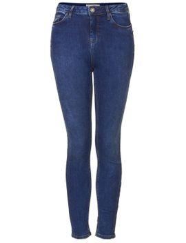 moto-blue-vintage-wash-jamie-jeans by topshop