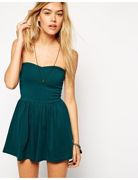 asos-bandeau-playsuit by asos-collection