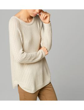 cable-knit-cape-sweater by massimo-dutti