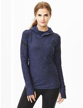 gapfit-jersey-mesh-panel-hoodie by gap