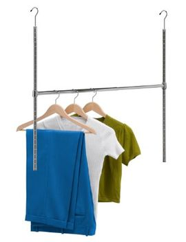 honey-can-do-hng-01816-chrome-adjustable-hanging-closet-rod by honey-can-do