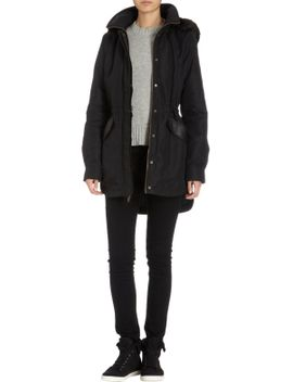 fur-hooded-anorak by barneys-new-york