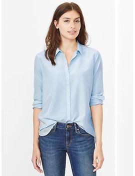 silk-cotton-shirt by gap