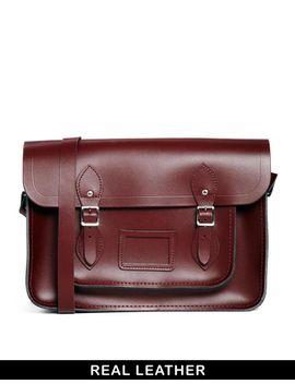 cambridge-satchel-company-14-inch-leather-satchel-in-oxblood by cambridge-satchel-company