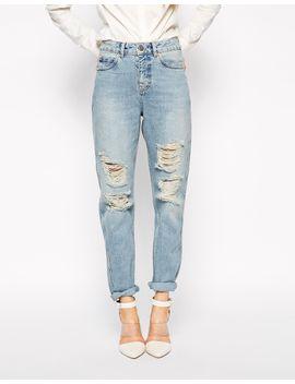 asos-original-rigid-mom-jeans-in-naomi-wash by asos-collection