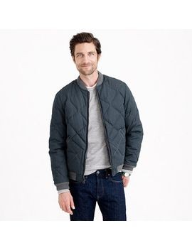 wallace-&-barnes-down-bomber-jacket by jcrew
